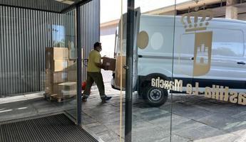 Castilla-La Mancha ha distribuido esta semana 100.000 artículos de protección en los centros sanitarios