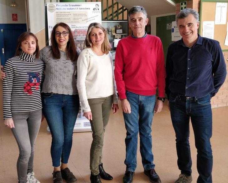 Alumnos franceses realizan sus prácticas en empresas de Albacete
