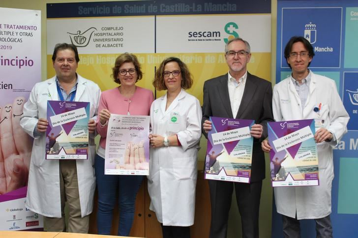 La Asociación de Esclerosis Múltiple reconoce al Hospital de Albacete
