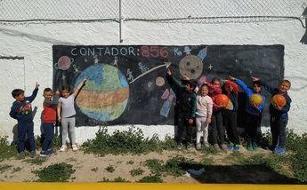 Los escolares de 100 centros de la región han recorrido ya un tercio del viaje de Castilla-La Mancha a la Luna