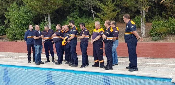 La Escuela de Protección de Castilla-La Mancha forma en prevención de riesgos y accidentes en piscinas