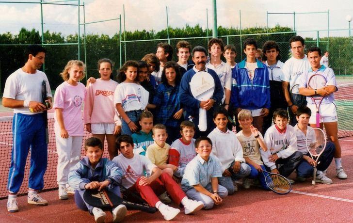 Imagen de archivo de las escuelas del Club de Tenis Albacete.