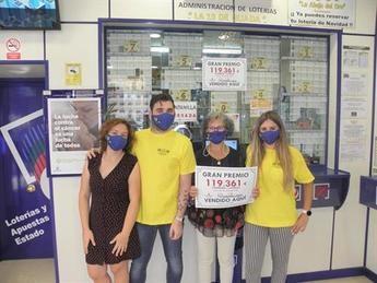 Euromillones llevó un premio de 119.361 euros al barrio de Los Manantiales de Guadalajara