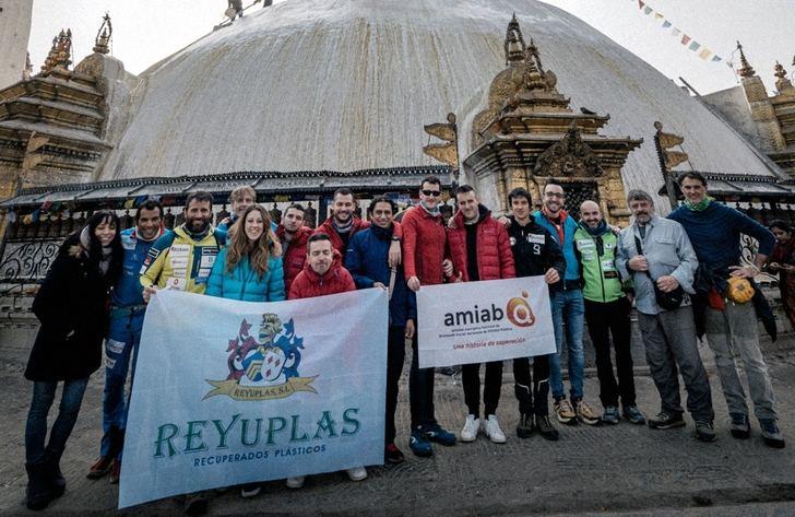 La expedición Álex Txikon-AMIAB ya está en Katmandú