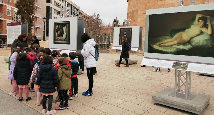 La exposición 'El Prado en las calles' se despide tras una excelente acogida en Albacete