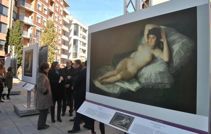 La exposición 'El Prado en Albacete' estará en la plaza de la Catedral hasta el 9 de febrero