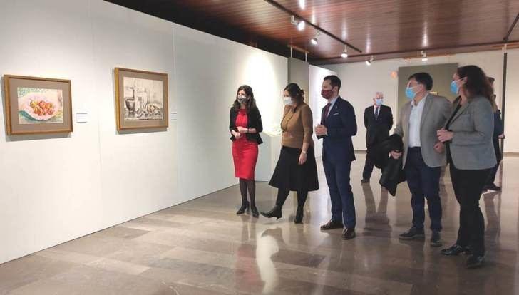 Exposición del pintor albaceteño Benjamín Palencia en el 40 aniversario de su muerte