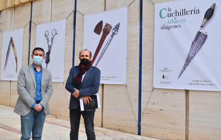 La exposición 'La Cuchillería de Albacete en imágenes' llega al edificio de la Dipuitación