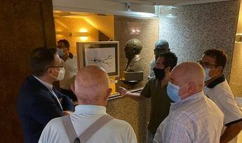 Primer fin de semana de la exposición 'Escenas de la Cuchillería de Albacete'