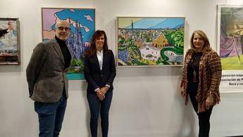 La Casa de la Cultura José Saramago acoge una muestra de pintores con la boca y con el pie