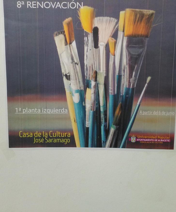 La Universidad Popular de Albacete muestra la exposición de los trabajos realizados