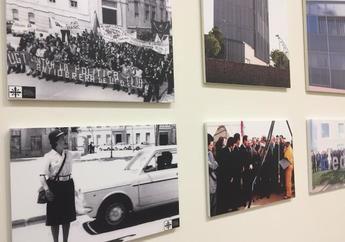 La exposición 'Albacete 1978-2018, 40 años de Progreso' será itinerante para Ayuntamientos y centros educativos de la provincia