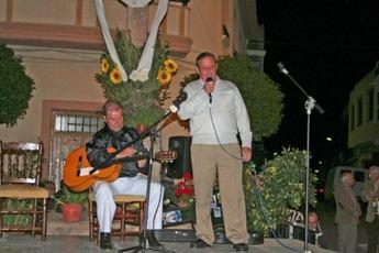 El Alcalde de Villarrobledo asistió a las fiestas de la Cruz de Piedra