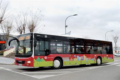 El uso del transporte urbano en Castilla-La Mancha cae en el mes de julio un 44 por ciento