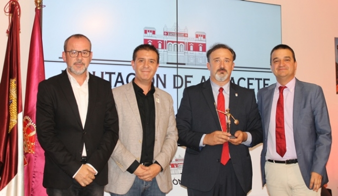 Aguas Nuevas llega al stand de la Diputación de Albacete con su eslogan 'un lugar para vivir'