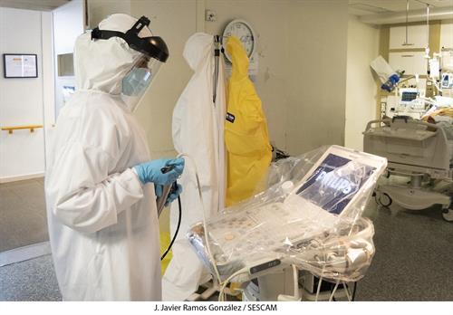 Castilla-La Mancha dispone de 535 camas UCI ante una posible segunda oleada del coronavirus