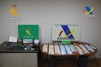 Cuatro detenidos en Toledo por tráfico de droga, blanqueo, tenencia de armas y falsificación de documentos