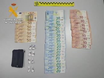 Detenidos dos hombres en Consuegra (Toledo) por tráfico de drogas