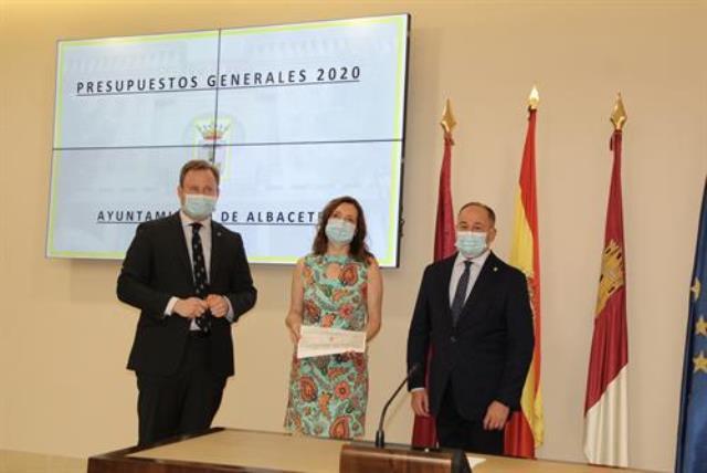 El presupuesto del Ayuntamiento de Albacete cae a 153,5 millones de euros tras rediseñarse por el coronavirus