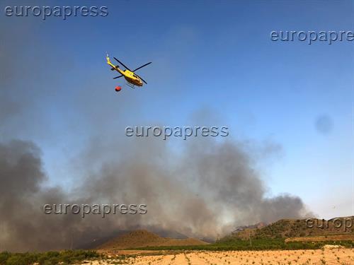 Estabilizado el incendio de Agramón (Albacete) con 274 hectáreas quemadas