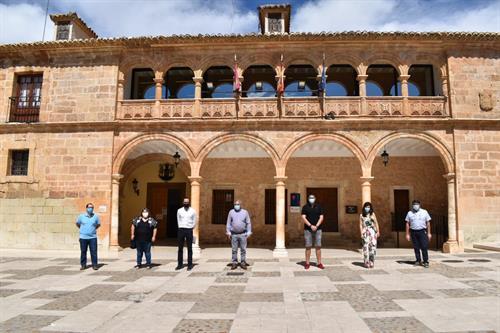El Bonillo construye con 6.000 euros de la Diputación de Albacete parte de los 50 nuevos nichos de su cementerio