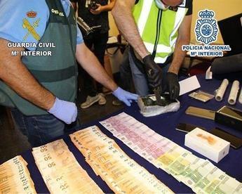 Desarticulada una organización criminal dedicada al tráfico de cocaína en Yuncos (Toledo)