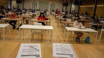 Casi el 63 por ciento del alumnado de Castilla-La Mancha aprueba la EvAU extraordinaria