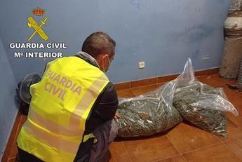 Detenidas 14 personas en El Casar (Guadalajara) por robo con violencia y cultivo de marihuana