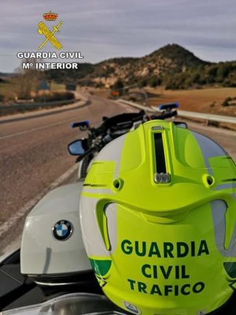 Investigada una persona por grabarse conduciendo a 182 kilómetros por hora en una carretera de Guadalajara