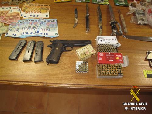 Desarticulado un punto de venta de droga y detenidas dos personas en Ocaña (Toledo)