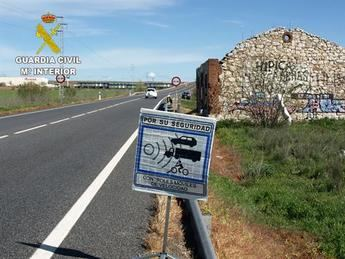 La Guardia Civil de Motilla del Palancar (Cuenca) investiga a una persona por conducir a 226 km/h