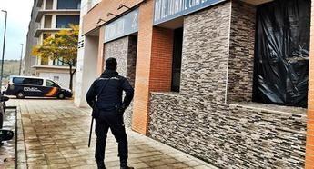 Dos detenidos en Guadalajara por un delito de robo con fuerza en un bar de la ciudad