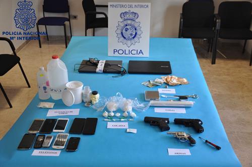 Desarticulada una organización criminal dedicada al tráfico de cocaína en Ciudad Real