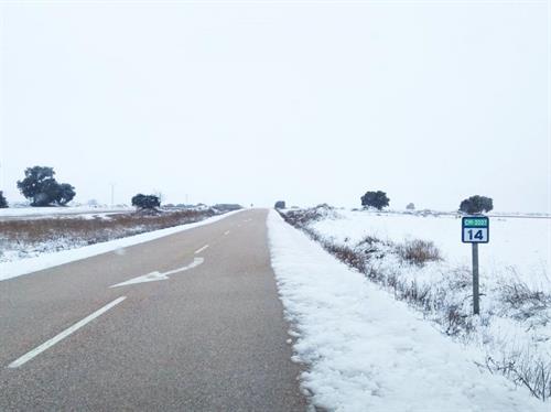 La red de carreteras de Castilla-La Mancha ya se encuentra totalmente transitable