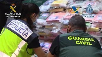 Cae una red que introducía cocaína oculta en carbón en varias provincias, entre ellas Cuenca