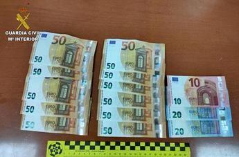 Detenidos dos menores por robar a un hombre 600 euros en un cajero automático en Villaluenga de la Sagra (Toledo)