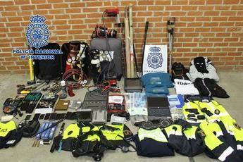 Cae una red que saboteaba sistemas de seguridad y cajas fuertes de empresas en varias ciudades, entre ellas Toledo