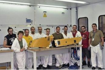 Finaliza el curso promovido por la Federación de Industria de CCOO sobre reparación y montaje de materiales compuestos para la industria aeronáutica