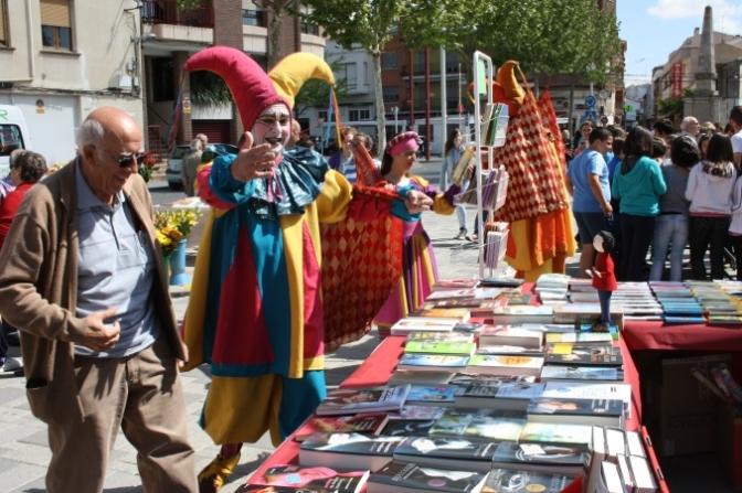 El Día del Libro, toda una celebración en las calles de La Roda