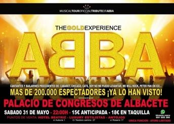 El musical que rinde tributo a Abba llega el día 31 al Palacio de Congresos de Albacete