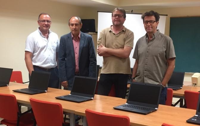 El Centro de Formación para el Empleo de Albacete refuerza su capacidad con la adquisición de 20 ordenadores