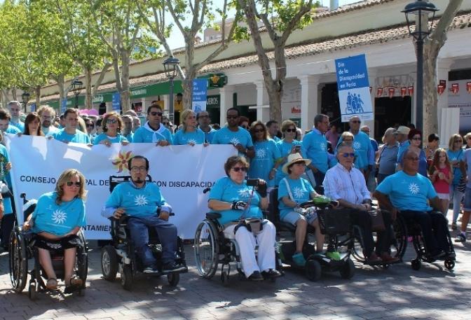 Día de las Personas con Discapacidad en la parte final de la Feria de Albacete