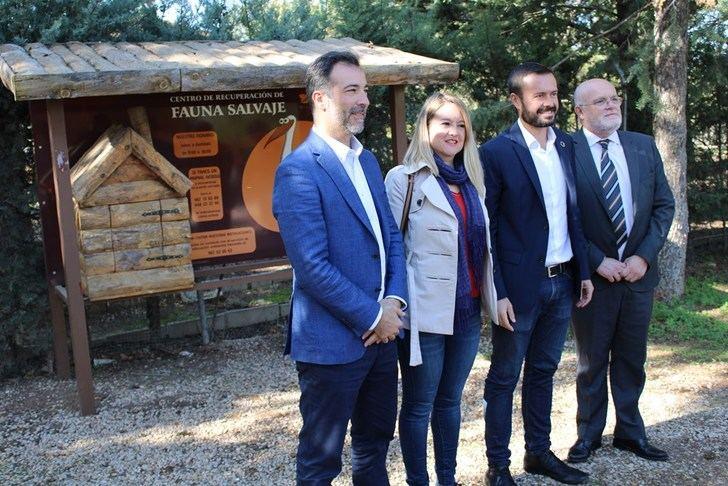 La Junta de Castilla-La Mancha destaca la importante labor en recuperación de fauna silvestre de los centros provinciales