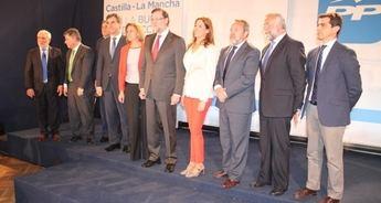 Javier Cuenca, presentado oficialmente como candidato del PP a la Alcaldía de Albacete