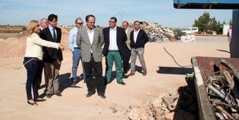 Villarrobledo cuenta ya con una nueva planta de reciclaje de residuos de la construcción