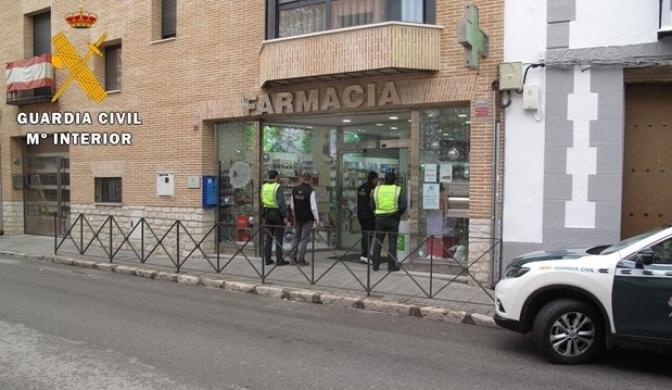 Detenido un hombre en Ocaña (Toledo) por adquirir tranquilizantes con 22 recetas falsas