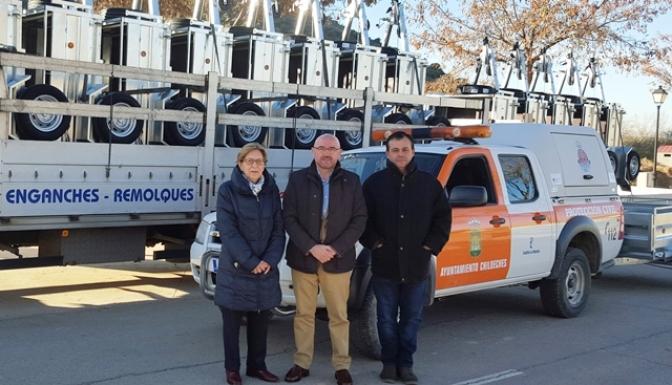 El Gobierno de Castilla-La Mancha finaliza la entrega de medios materiales a 158 agrupaciones de Protección Civil