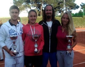Ainoha Garijo y Jaime Castillo, nuevos campeones regionales cadetes de tenis
