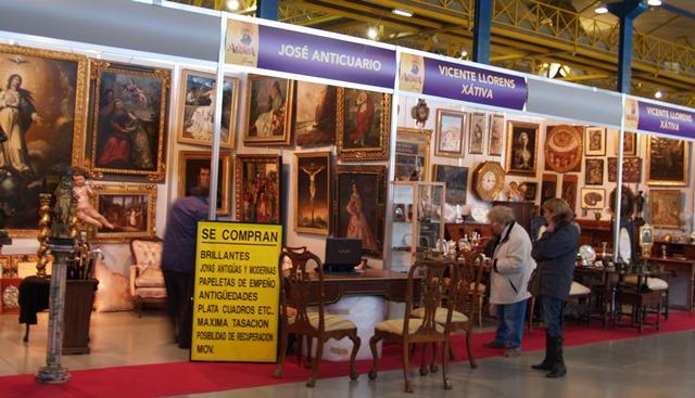 Imagen de archivo de la Feria de Antigüedades de Albacete, Antigua.
