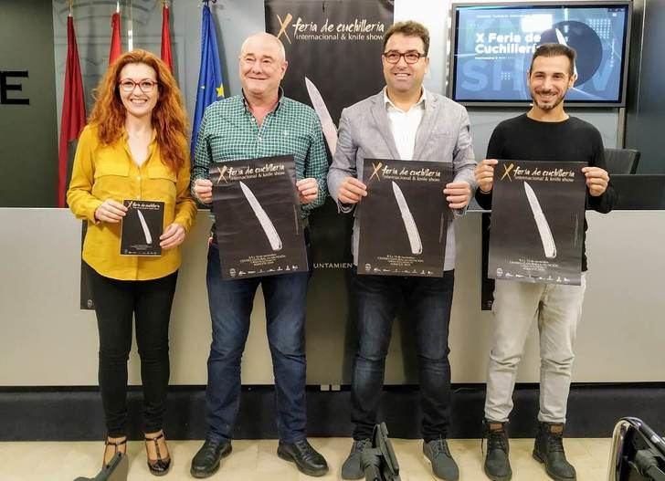 La Feria de Cuchillería Internacional de Albacete llega ya a su décima edición